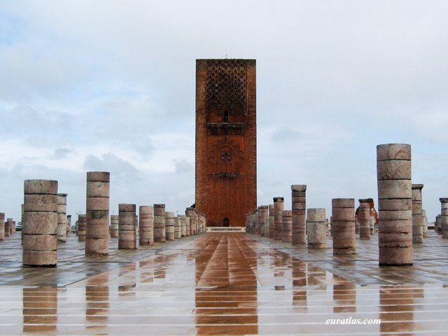 La Tour Hassan à Rabat